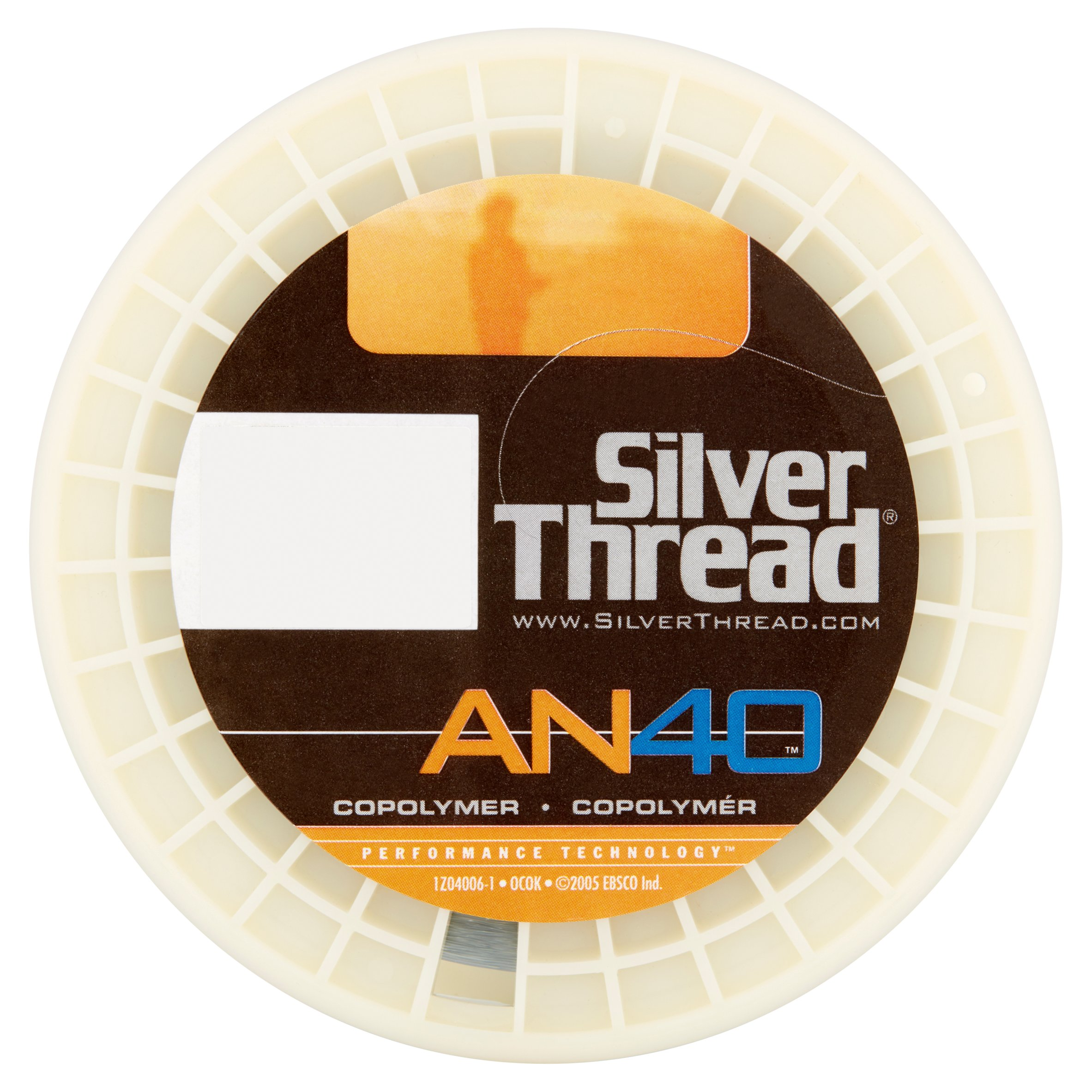 Silver Thread AN40 Silver Copolymer Fishing Line Box by Ebsco Industries, Inc.