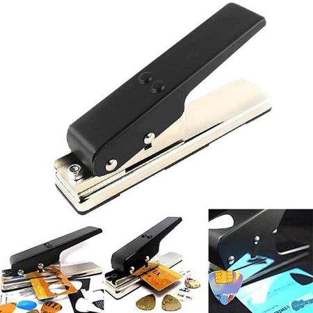 New Professional Guitar Plectrum Punch Picks Maker Card Cutter DIY Own - Diy Guitar Pick
