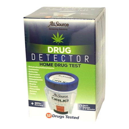 Image of AllSource Drug Detector 12 Panel Home Drug Test