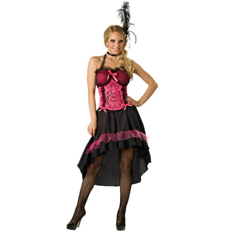 Saloon Gal Women's Adult Halloween Costume - Adult Saloon Girl Costume