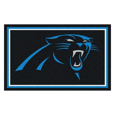 NFL - Carolina Panthers 4'x6' Rug
