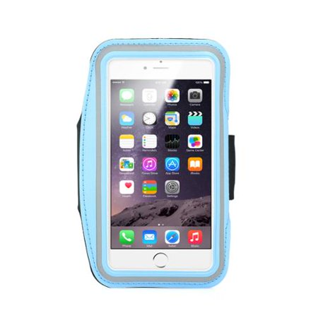 GEARONIC Running Jogging Sports Workout Gym Armband Sportband Pouch Case Holder for iPhone 6 Plus 5.5