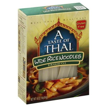 Taste Of Thai Noodle Rice Gf Xwide
