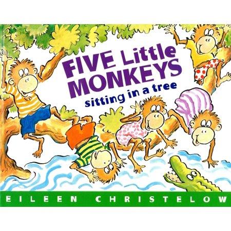 Five Little Monkeys Sitting in a Tree (Read-aloud) -