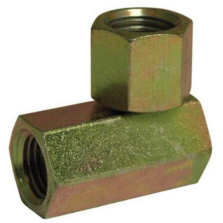 39005353 .25 x .25 in. Female Pipe, 90 Degrees, Swivel Hydraulic Adapter
