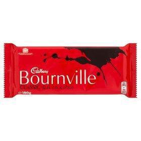 Original Cadbury Bournville Classic Dark Chocolate Bar Imported From England UK The Best Of British (The Best Chocolate Bar)