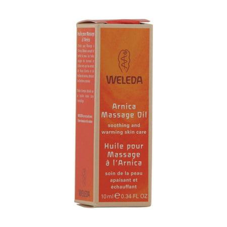 Weleda Arnica Massage Oil, Trial Size - 0.34 Oz