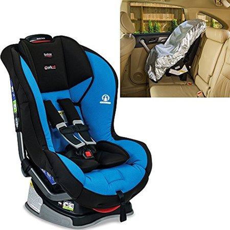 Britax Marathon G41 Convertible Car Seat With Sunshade Azul
