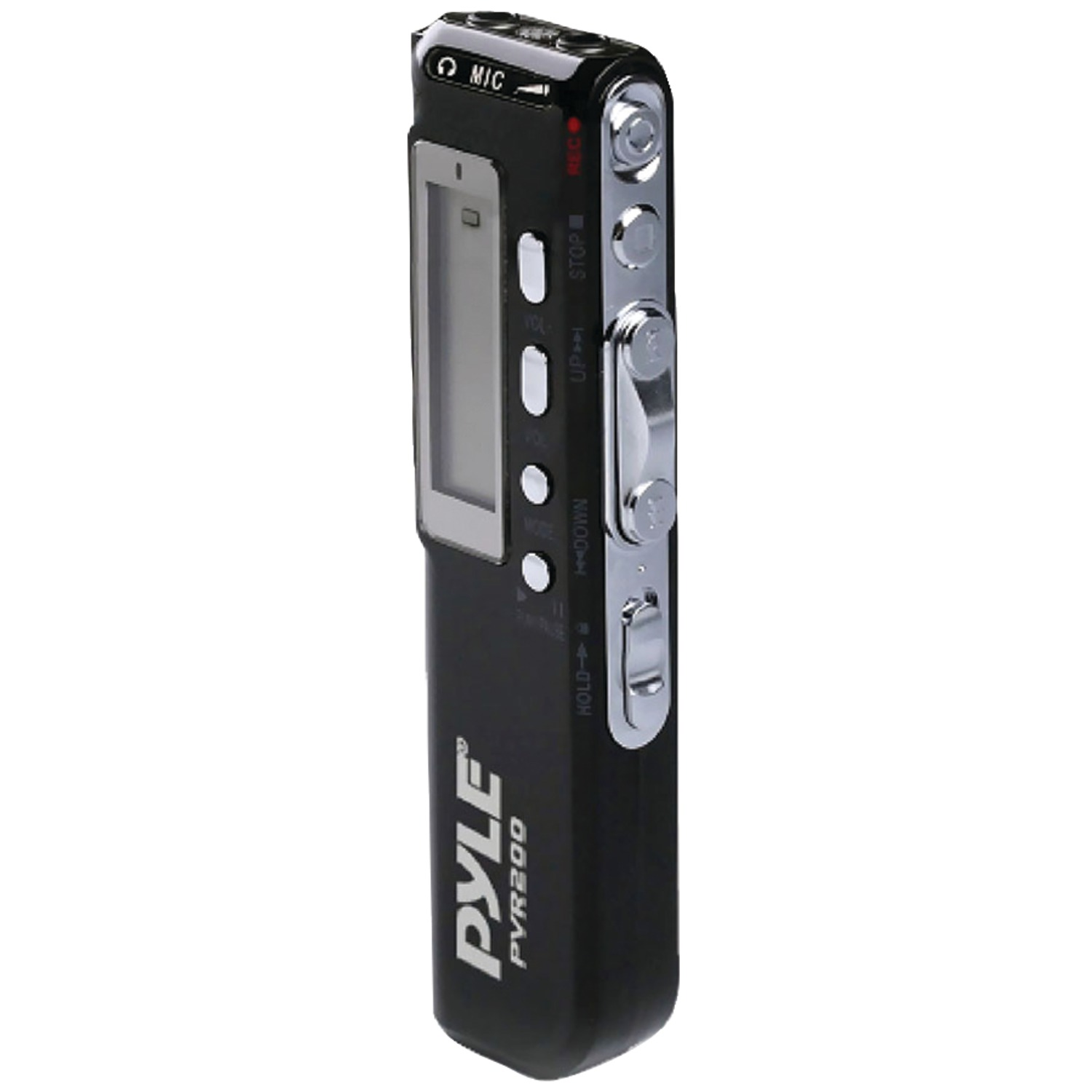 Pyle Home PVR200 Digital Voice Recorder with 4GB Built-in Memory