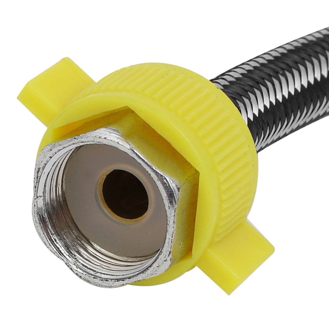 1/2PT Female Thread to 1/2PT Female Thread Toilet Connector 300mm Length - image 1 of 3