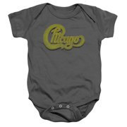 Chicago Distressed Unisex Baby Snapsuit