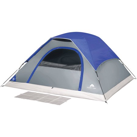 Ozark Trail 7' x 7' Dome Tent, Sleeps 3