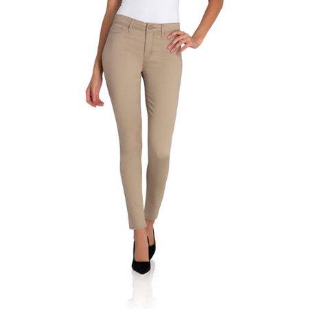 Jordache Womens Essential High Rise Super Skinny Jean