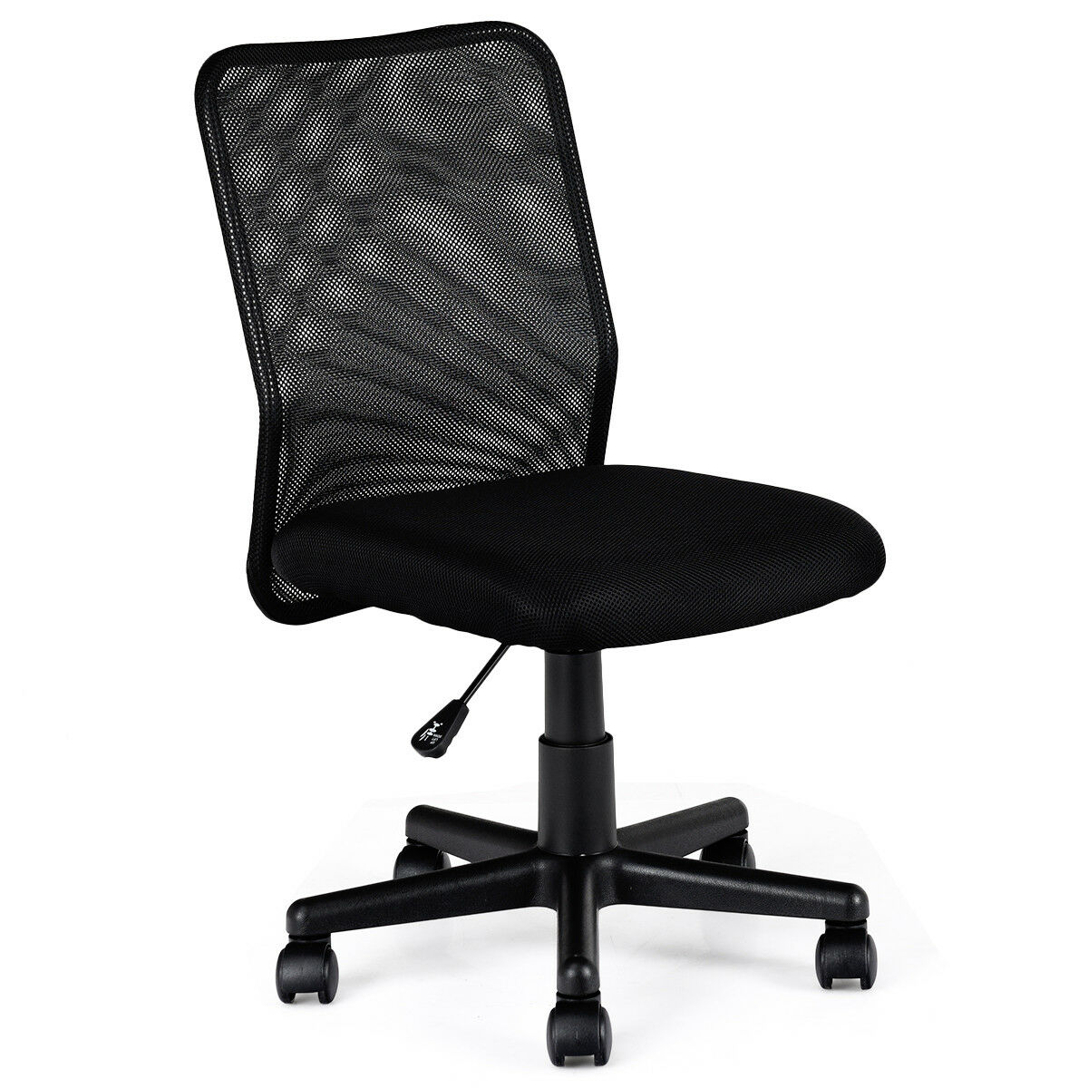 Costway Mid-back Adjustable Ergonomic Mesh Swivel Computer Office Desk Task Chair