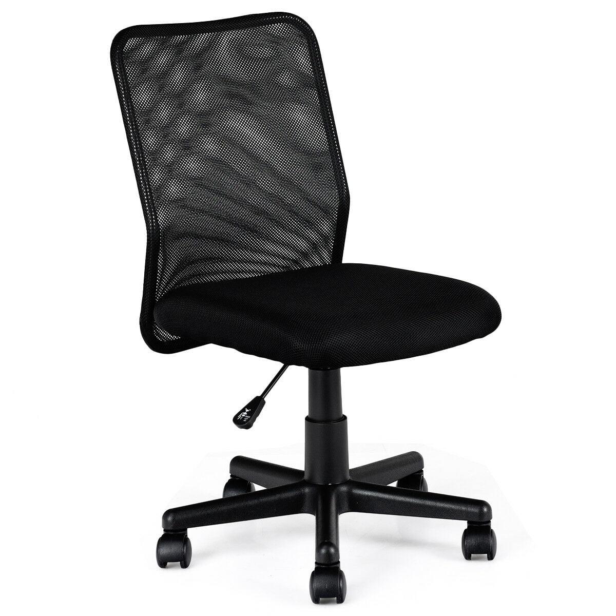 Costway Mid-back Adjustable Ergonomic Mesh Swivel Computer Office Desk Task Chair