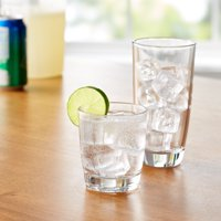 Mainstays 16-Piece Drinkware Glass Set