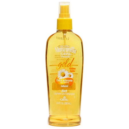 GRISI CHAMOMILE MANZANILLA GOLD SPRAY LOTION W/ COLOR ENHANCING DETANGLING HAIR SOFT AND FLEXIBLE (Detangling Lotion)
