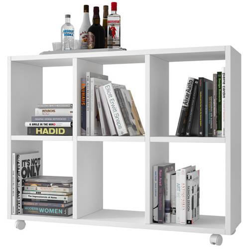Image of Manhattan Comfort Accentuations Salvador 6-Shelf Bookcase