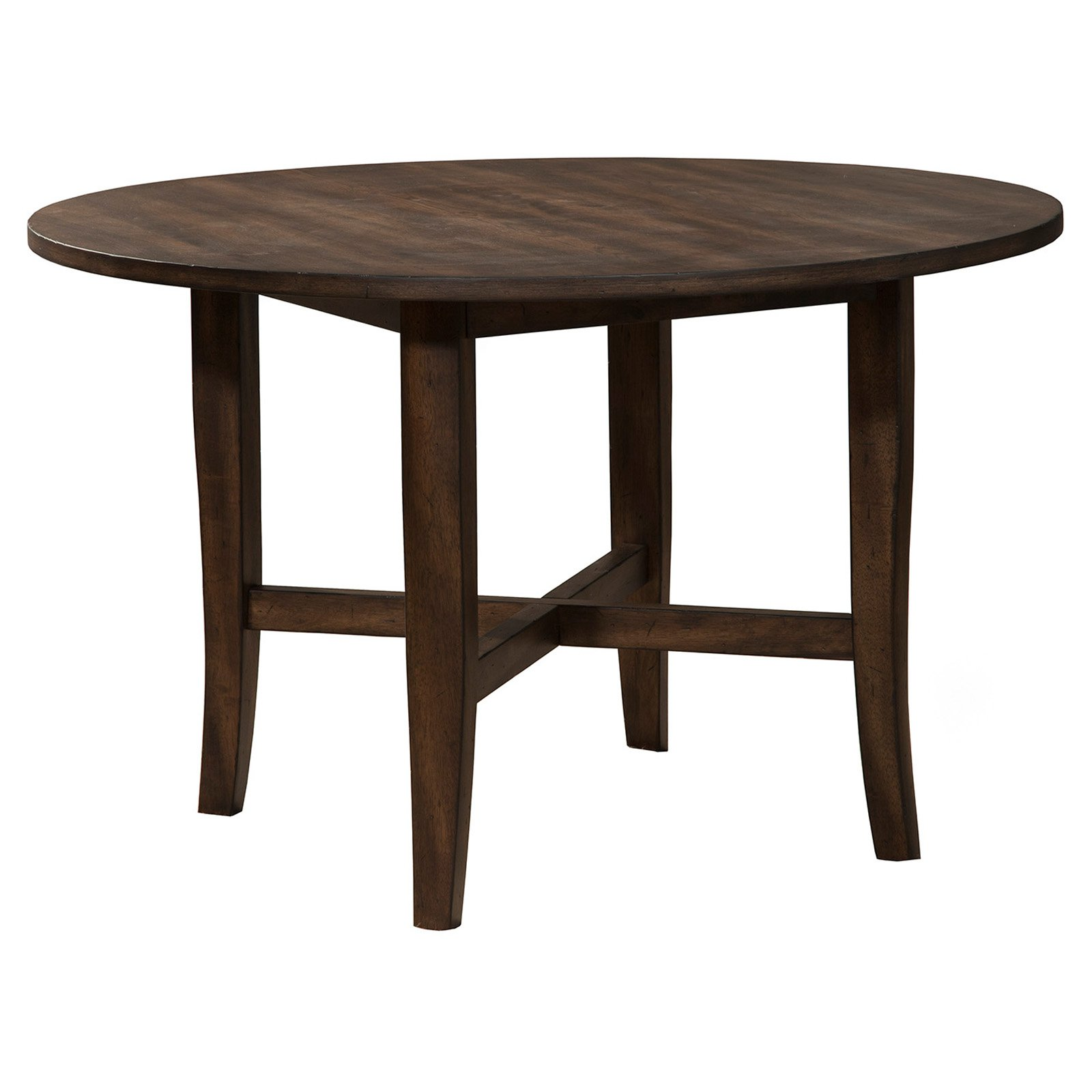 Alpine Furniture Arendal Round Dining Table by Alpine Furniture