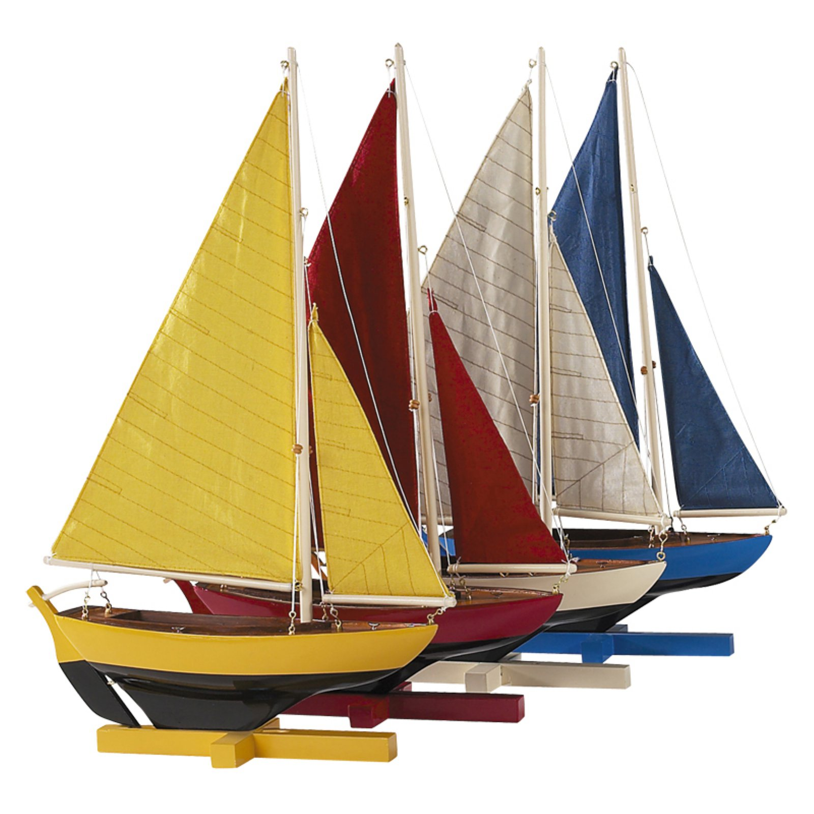 Authentic Models Sunset Sailers - Set of 4