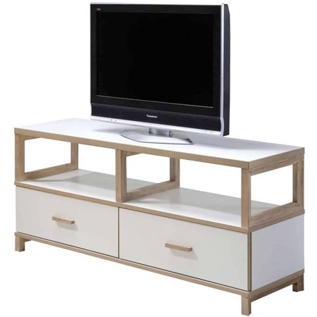 Imagio Home's Lifestyles Studio Living Collection Wood Entertainment Unit, White ()
