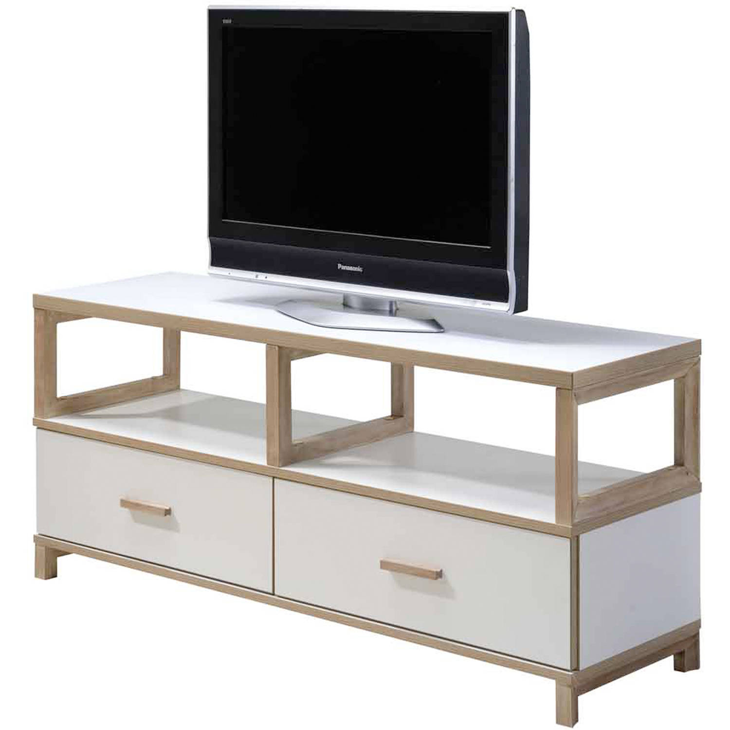 Imagio Home's Lifestyles Studio Living Collection Wood Entertainment Unit, White