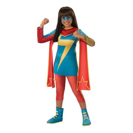 Halloween Marvel Rising: Secret Warriors Ms. Marvel Child Costume - Ms Marvel Halloween Costumes