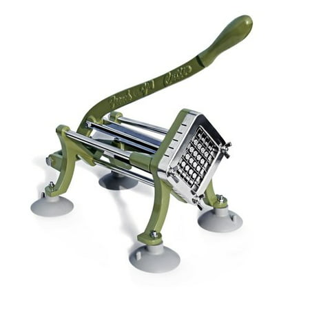 New Star Foodservice 42313 Commercial Grade French Fry Cutter with Suction Feet,