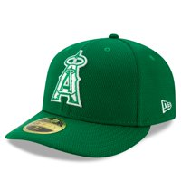 Los Angeles Angels New Era 2020 St. Patrick's Day On Field Low Profile 59FIFTY Fitted Hat - Kelly Green