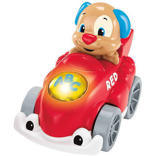 Fisher-Price Laugh and Learn Smart Speedsters Puppy's Car