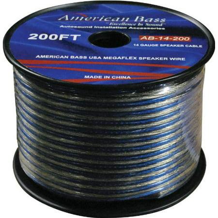 Image of American Bass AB14200 Megaflex 14 Gauge Speaker Wire 200 Feet