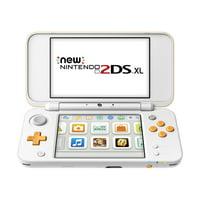 New Nintendo 2DS XL System w/ Mario Kart 7 Pre-installed, Orange & White
