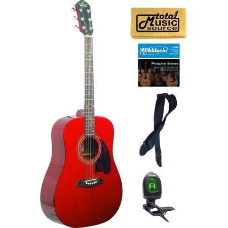 og2 oscar schmidt acoustic guitar washburn red pack og2tr kit. Black Bedroom Furniture Sets. Home Design Ideas