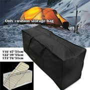 Large Outdoor Garden Furniture Cushion Trunk Storage Bag Zipped Case Waterproof, Christmas Tree Storage Bag ,Patio Furniture Covers