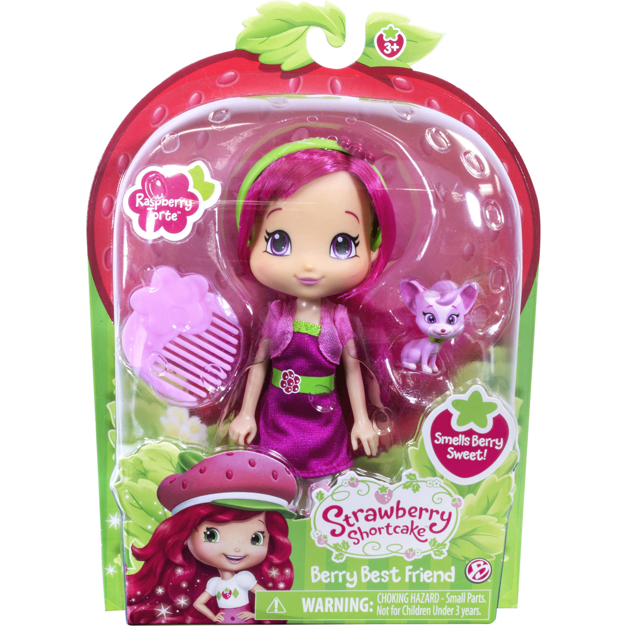 Strawberry Shortcake 6  Doll and Pet Raspberry with Chiffon  sc 1 st  Walmart & Strawberry Shortcake 6