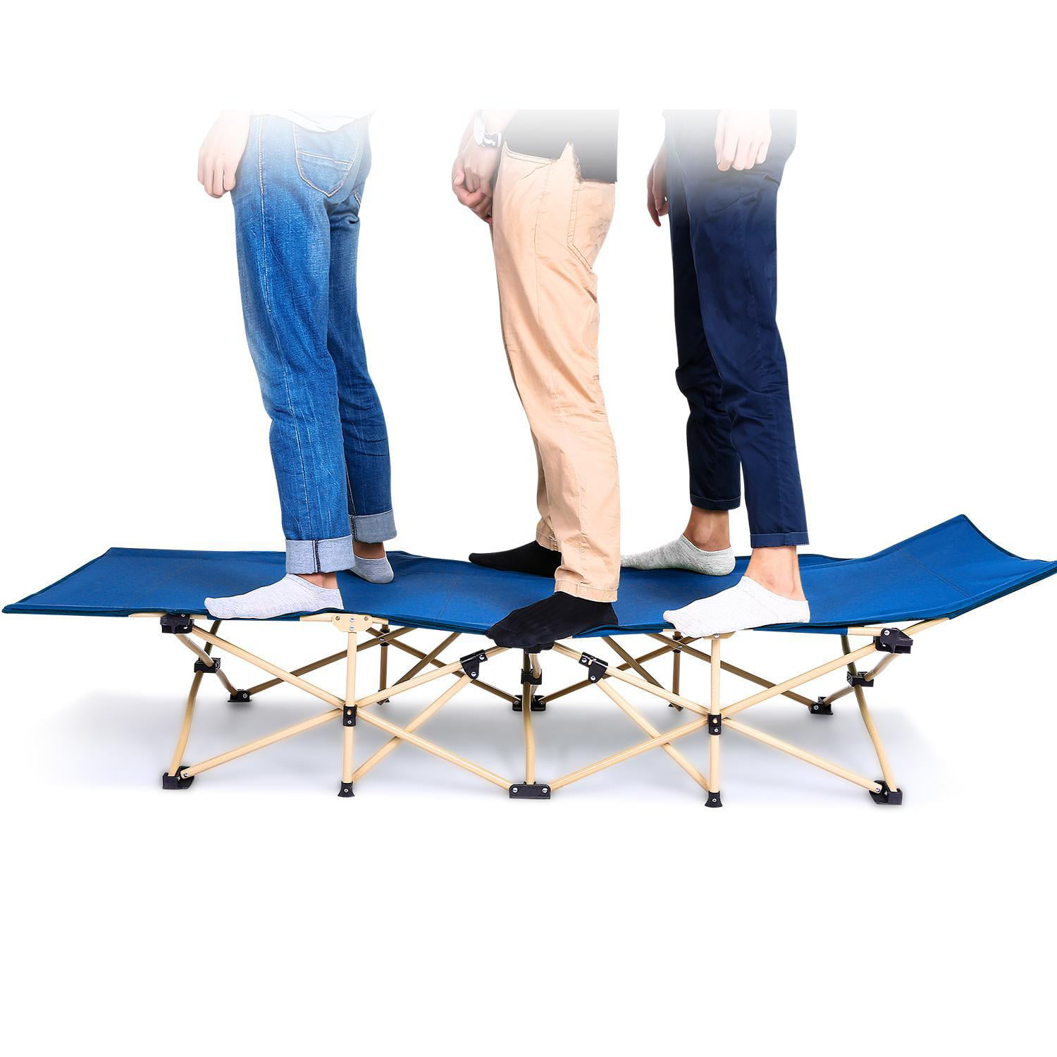Portable Bed 260lbs Capacity Camping Cot Foldable for ...