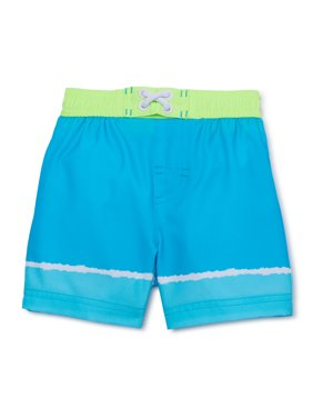Wonder Nation Baby Toddler Boy Color-Changing Swim Trunks