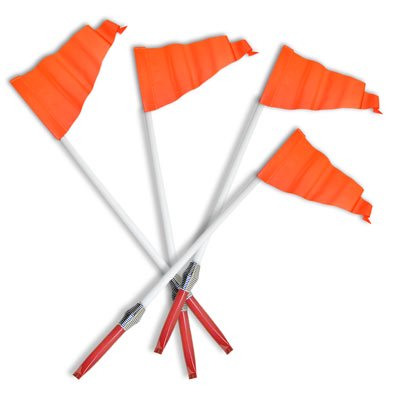 Set of 4 Corner Soccer Field Flags (Soccer Corner Coupons)