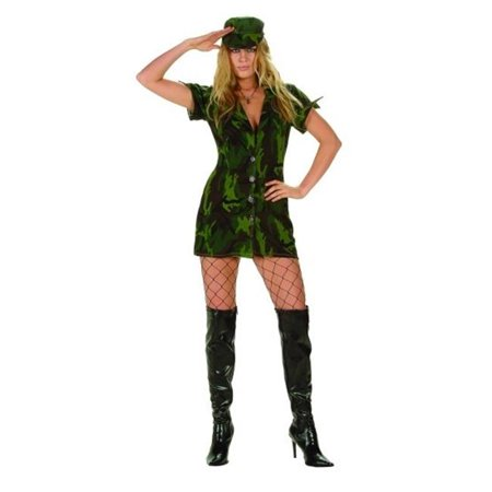 Halloween Costumes For 4th Graders (RG Costumes 81462-S Military Girl Costume - Size Adult Small)