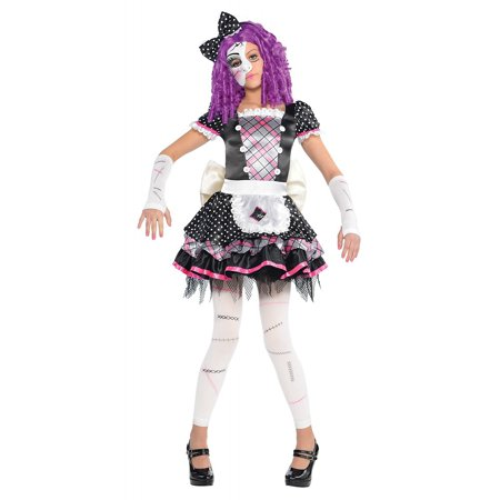 Damaged Doll Child Costume - X-Large - Chuckie Doll Costume