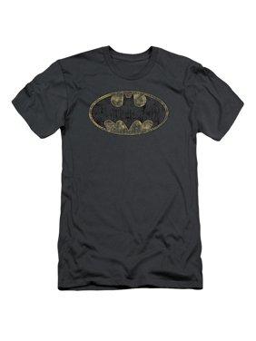 93eb8cc07668e Product Image batman tattered logo mens slim fit shirt
