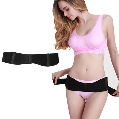 Black Body Shaper (Dilwe Postpartum Recovery Band Body Shape Girdle Pelvic Bone Tape Belt (Black))