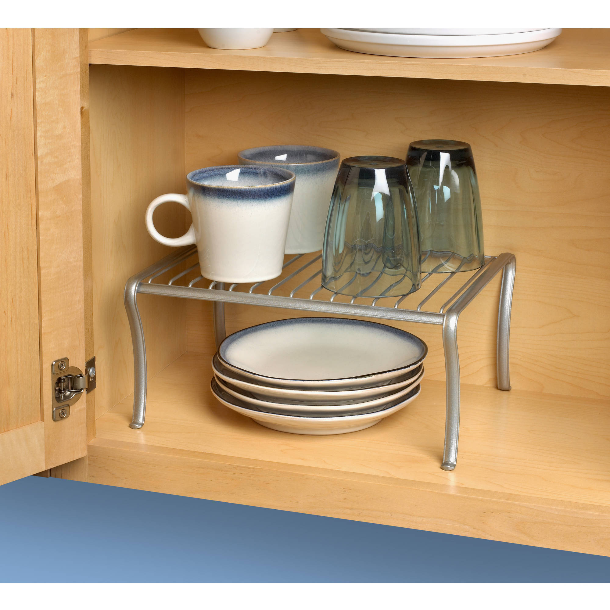 Spectrum Ashley Cabinet Shelf, Satin Nickel