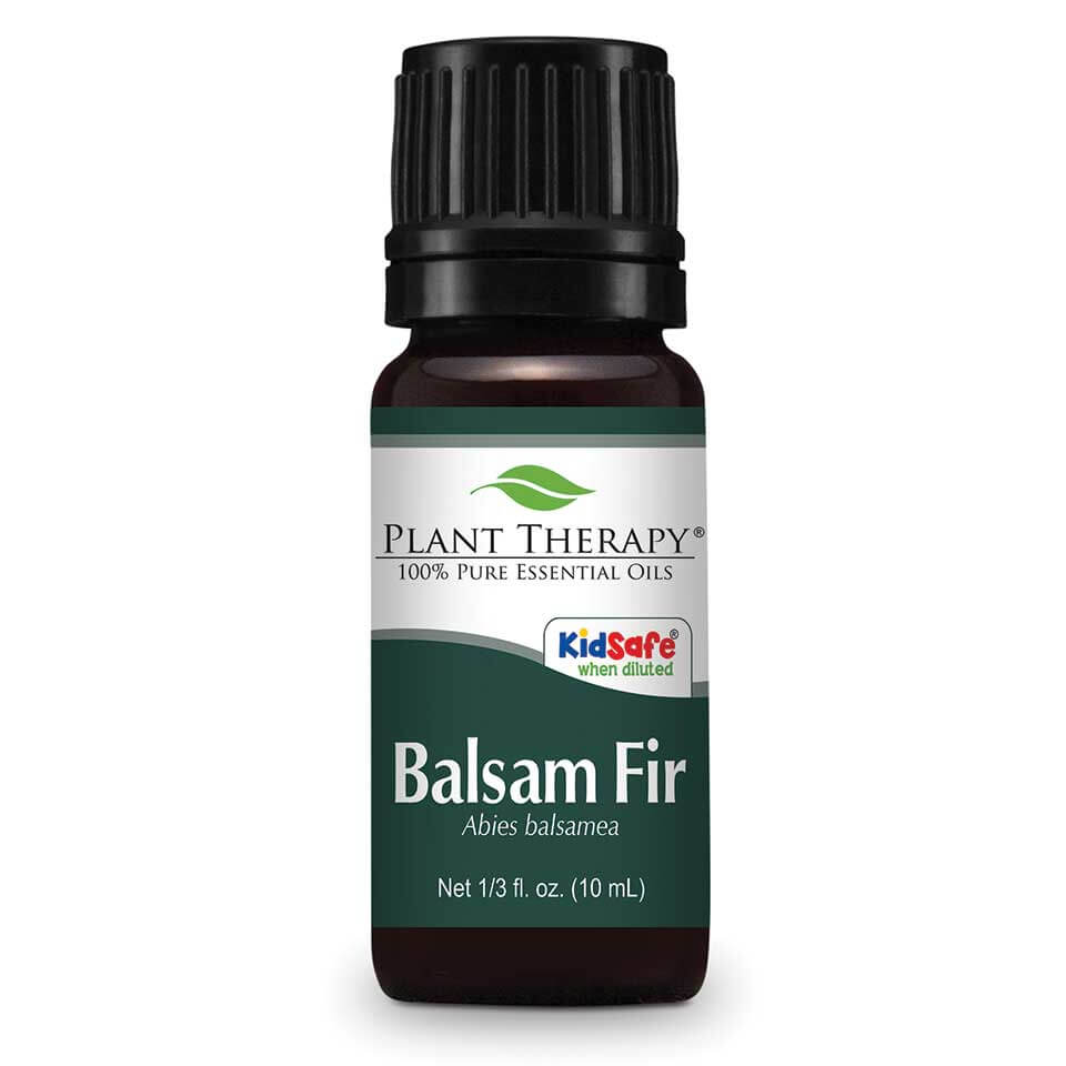 Plant Therapy Balsam Fir Essential Oil 10 mL (1/3 fl. oz.) 100% Pure, Undiluted, Therapeutic Grade