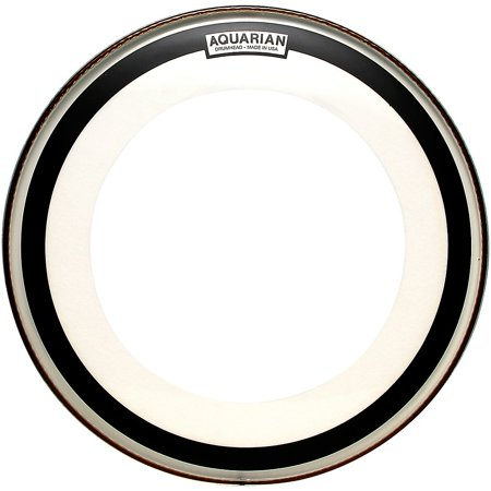 Aquarian Impact Clear Single Ply Bass Drum Head 20 in. 2 Ply Clear Bass Drum