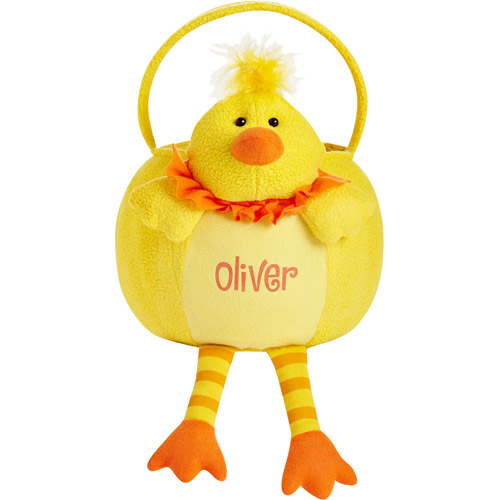Personalized Leggy Easter Basket, Chick
