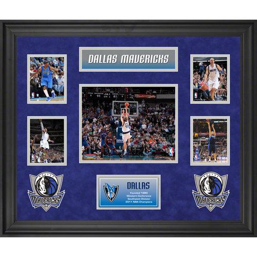 NBA - Dallas Mavericks Framed 5-Photograph Collage