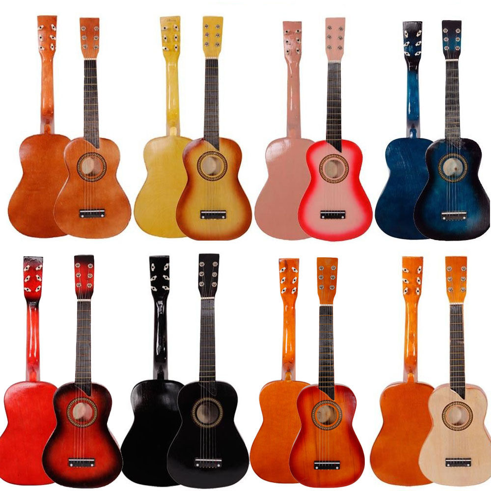 """Ktaxon 25"""" Inch Acoustic Toy Guitar for Kids with Guitar Pick, Extra Guitar String"""
