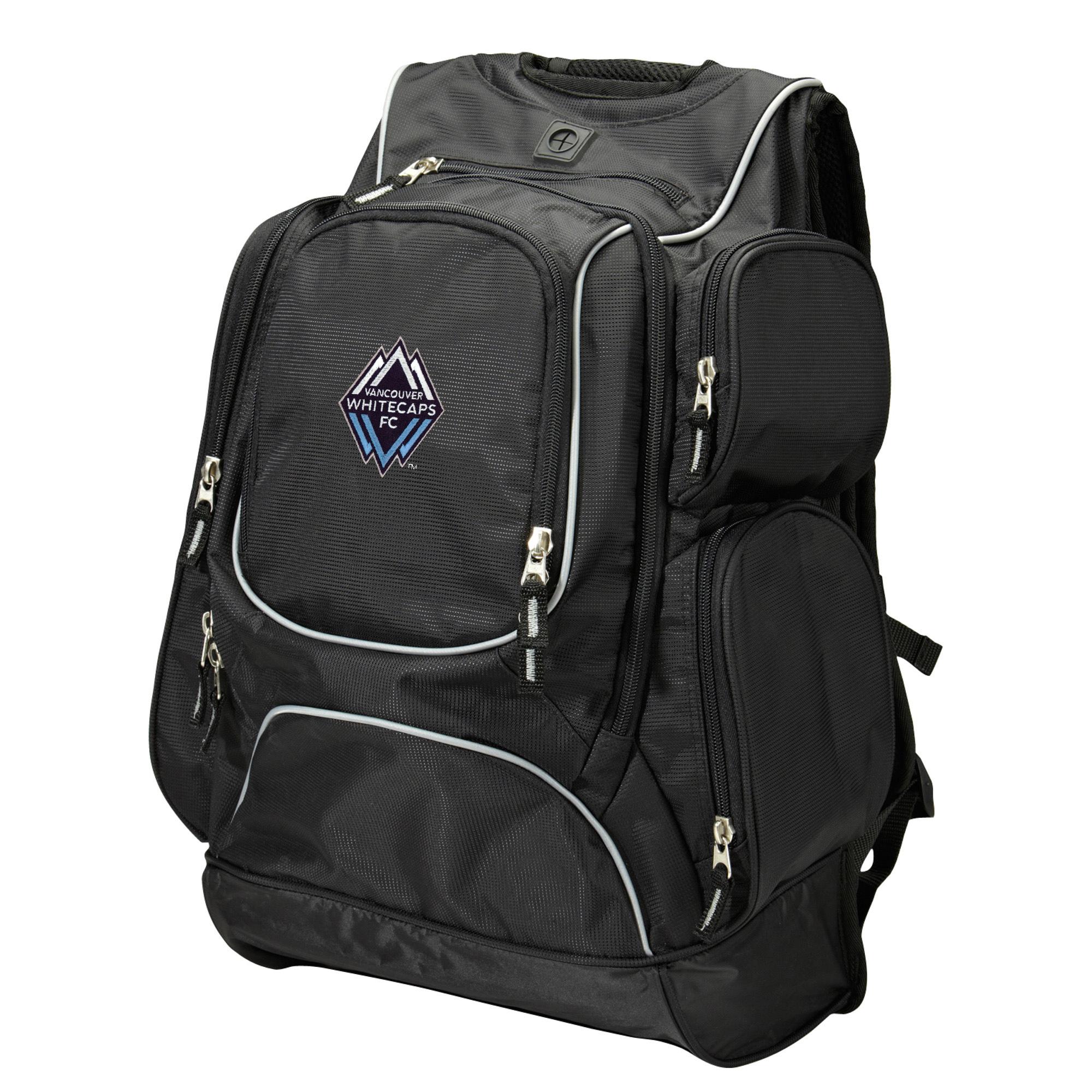 Vancouver Whitecaps FC Antigua Executive Backpack - Black/Gray - No Size