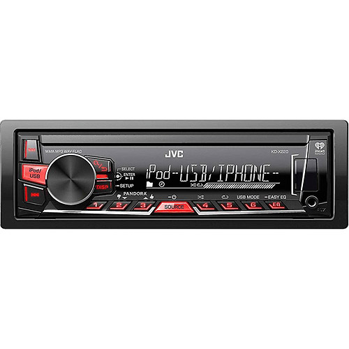 JVC KD-X220 Single DIN In-Dash Digital Media Receiver